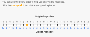 Alphabet Cipher mapping tool